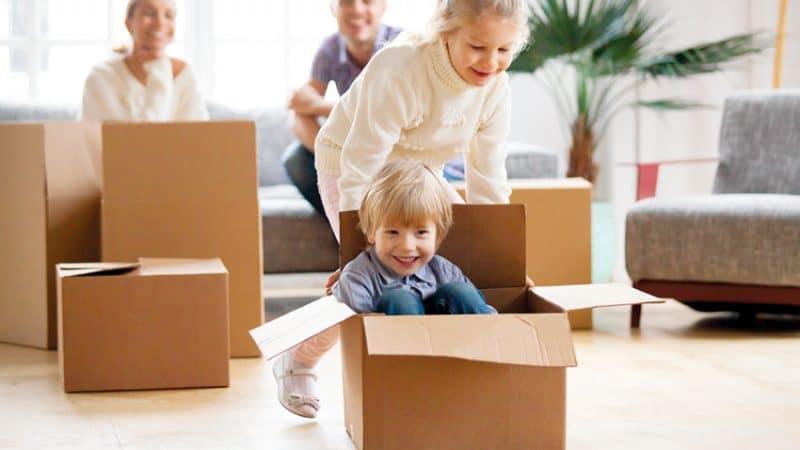 Réussir un déménagement avec ou sans Enfants